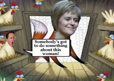 Sturgeon: SNP will keep foxhunting ban in revenge against Cameron