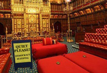 House of Lords getting 'too big for its unelected boots'?