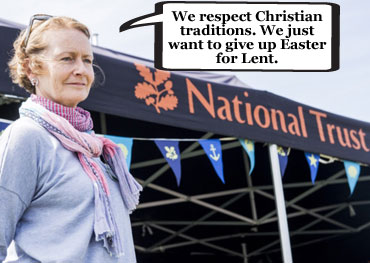 National Trust denies trying to airbrush Easter