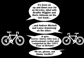 the ups and downs of cycling