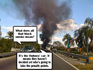 Black smoke signals no decision