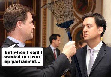 Nick Clegg pledges to clean up parliament