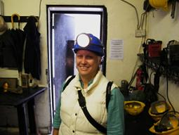 Bianca at Hopewell Colliery