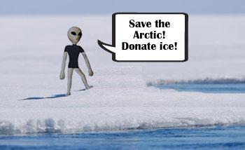 Save the Arctic. Donate ice.