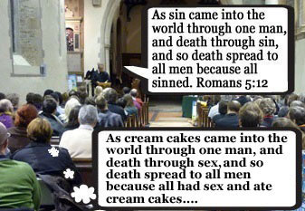 CofE says the word 'sin' makes people think of 'sex and cream cakes'