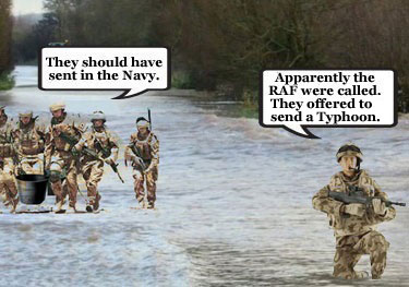 Troops sent in to flood-hit Somerset