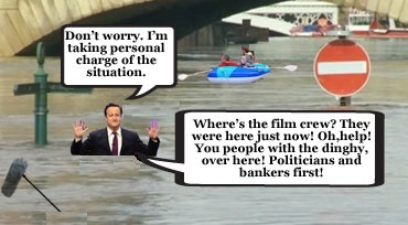 Fury at the Westminster 'flood tourists'