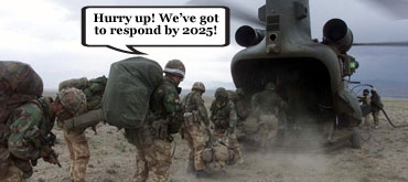 Cameron announces rapid response force by 2025