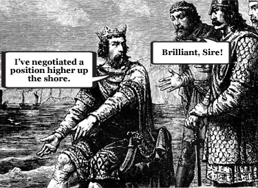 King Canute's renegotiation deal