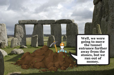 Stonehenge tunnel plans modified as costs increase