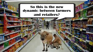 a new dynamic between farmers and retailers