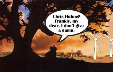 Chris Huhne - Gone with the wind