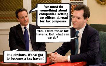 Cameron promises to cut taxes so companies move to Britain